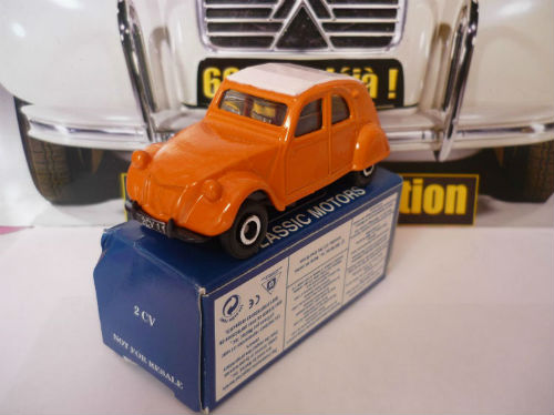 2cv citroen corgi 1  53 collection