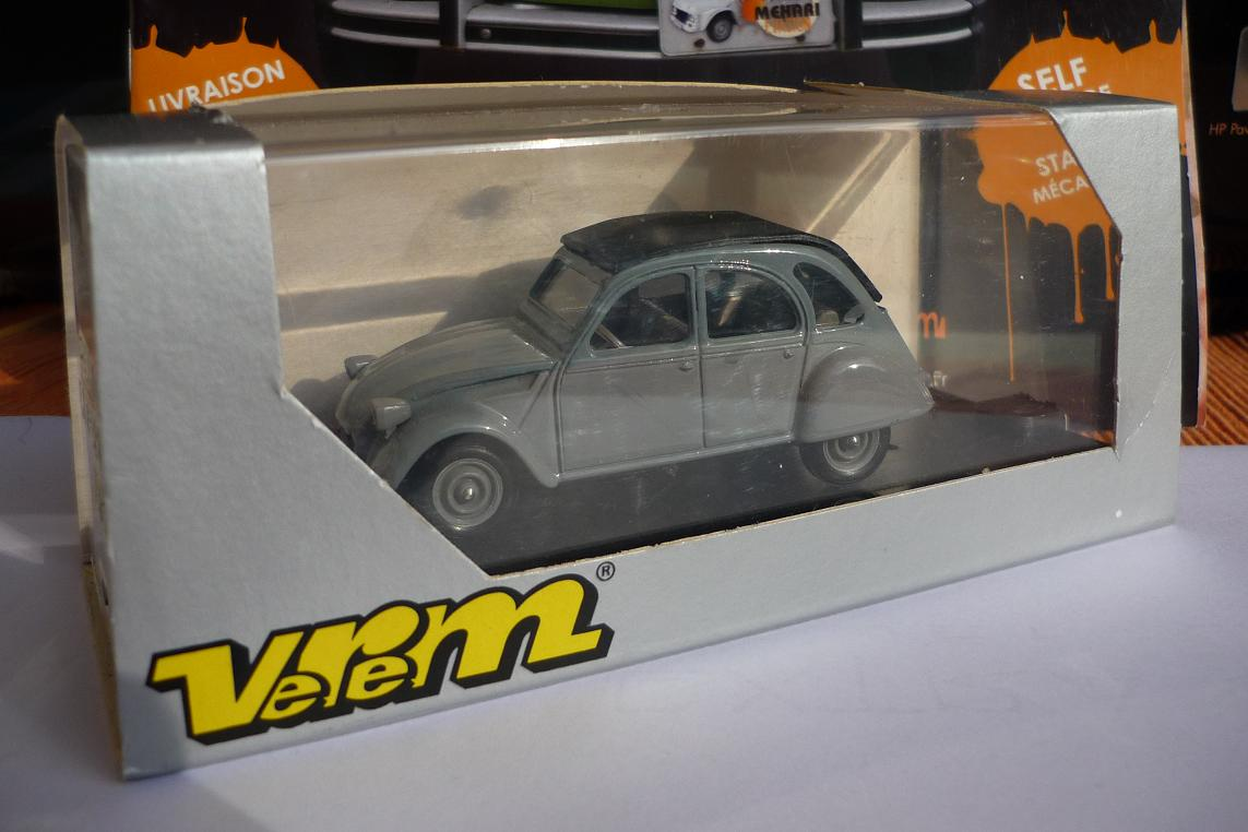 collection de 2cv miniatures 1  43 verem
