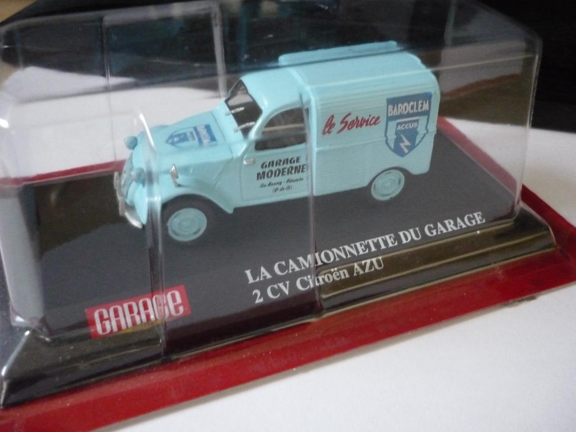 Collection 2cv presse eligor miniature 1 43 for Garage moderne du tremblay
