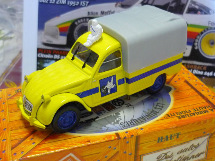 collection hachette 2cv miniature